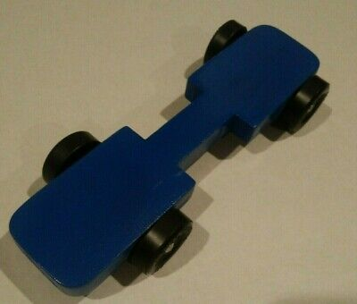 Pinewood Derby Car Legal and Fast 2010 BSA Racer Solid Blue 7''