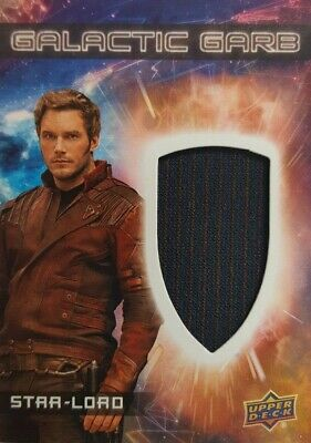 GUARDIANS of The GALAXY Vol 2 Costume Card GALACTIC Garb  STAR-LORD  SM - 1