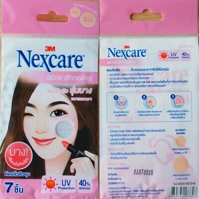 3M Nexcare Acne Dressing Thinner Version Pimple Sticker Patch UV Protection