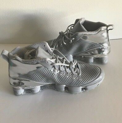 newest 7f4ad 010e1 Nike Shox TLC MID SP FLYWIRE Silver   Chrome US 11 - EUR 45 - New