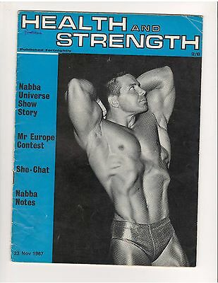 HEALTH and STRENGTH Vol 96 #24 bodybuilding muscle magazine/Bill Pearl 11-67