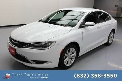 2016 Chrysler 200 Series Limited Texas Direct Auto 2016 Limited Used 2.4L I4 16V Automatic FWD Sedan Premium