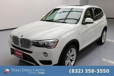 2016 BMW X3 xDrive28d Texas Direct Auto 2016 xDrive28d Used Turbo 2L I4 16V Automatic AWD SUV Premium