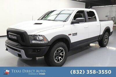 2017 Ram 1500 Rebel Texas Direct Auto 2017 Rebel Used 5.7L V8 16V Automatic RWD Pickup Truck Premium
