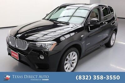 2017 BMW X3 xDrive28i Texas Direct Auto 2017 xDrive28i Used Turbo 2L I4 16V Automatic AWD SUV Premium