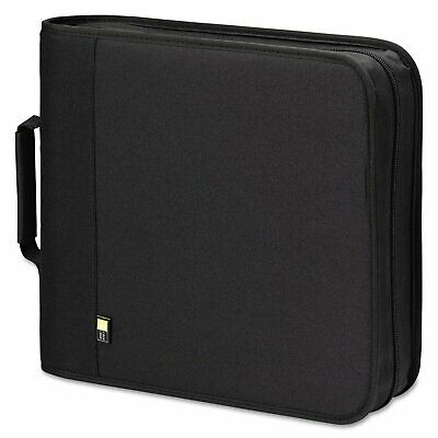 Case Logic CD/DVD Expandable Binder Holds 208 Disks Black