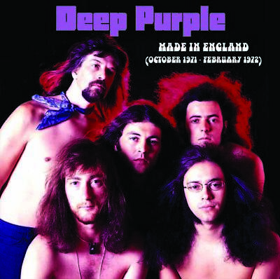 DEEP PURPLE Made In England 1971-1972 LP Fireball UK TOUR unreleased live VINYL