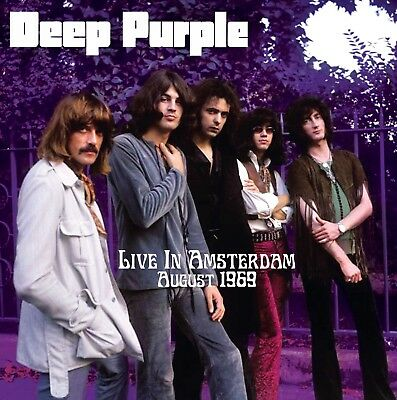 DEEP PURPLE Live In Amsterdam 1969 LP soundboard pre- IN ROCK tour UK VINYL mint