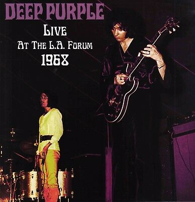 DEEP PURPLE Live At The LA Forum Inglewood 1968 LP clean audio 55 min VINYL mint