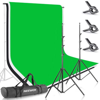 Neewer 6.5x9.8ft/2x3M Background Stand Backdrop Support System with...