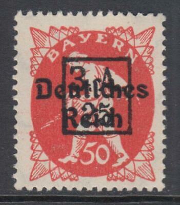 """RUSSIA - 1919 - WEST ARMY - """"25"""" on 50pf MNH** Abschiedsserie"""