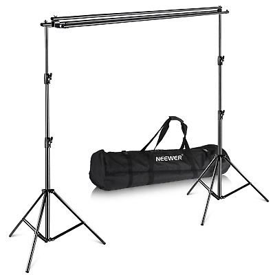 Neewer Triple Background Backdrop Support System with Carrying Case -...