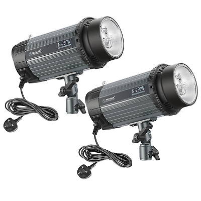 Neewer 500W(2-Pack 250W)5600K Photo Studio Strobe Flash Light Monolight with...