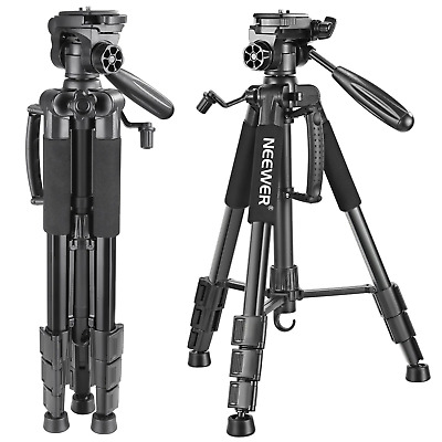 Neewer Portable 56 inches/142 centimeters Aluminum Camera Tripod with 3-Way...