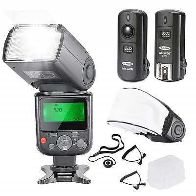 Neewer NW-670 TTL Flash Speedlite with LCD Display Kit for Canon DSLR...
