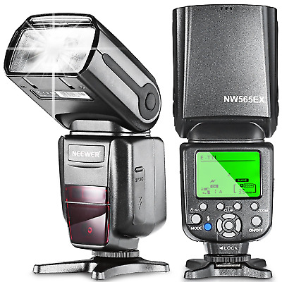 Neewer NW565EX E-TTL Slave Flash Speedlite with Diffuser for Canon 5D Mark...