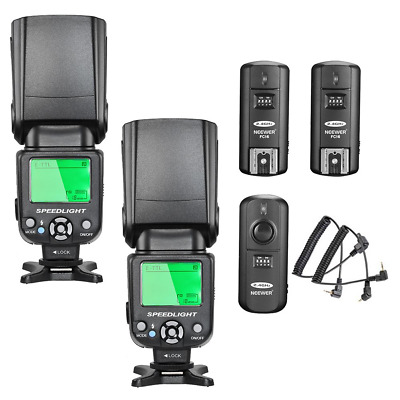 Neewer NW-562 E-TTL Flash Speedlite Kit for Canon DSLR Camera,Kit...