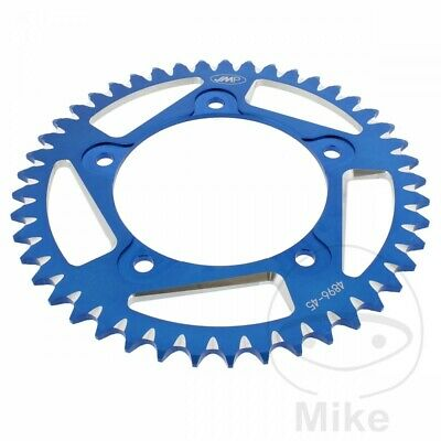 Suzuki GSX-R 1000 2004 JMP Blue Aluminium Rear Sprocket (45 Teeth)