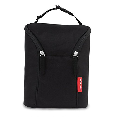 Skip Hop Double Bottle Bag (Black)