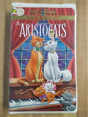The Aristocats (VHS, 2000, Gold Collection) Walt Disney