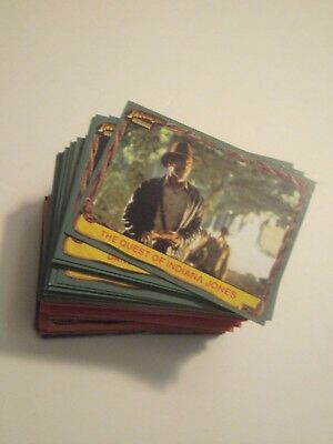 INDIANA JONES HERITAGE 2008 Topps  COMPLETE TRADING CARD SET MINT