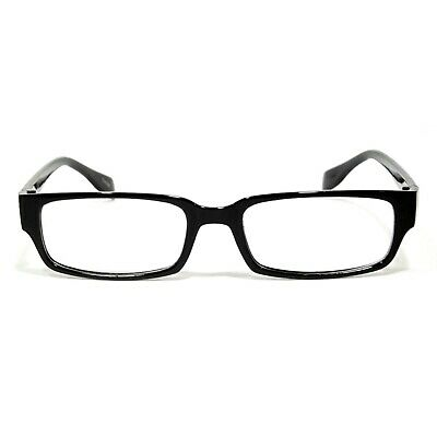 ed53007e3842 NWT Cool Retro Style Clear Lens Glasses Broadway Fashion Rectangular Black  Frame