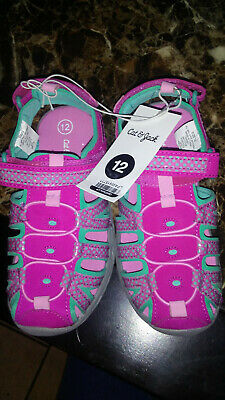 5d160191fbcb Toddler Girls  Rory Camp Pink Hiking Sandals - Cat   Jack™ Size 12 Closed