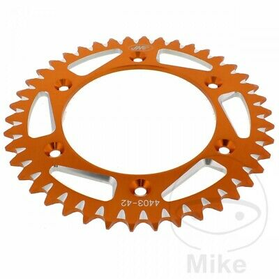 Husqvarna FE 501 2015 JMP Orange Aluminium Rear Sprocket (42 Teeth)