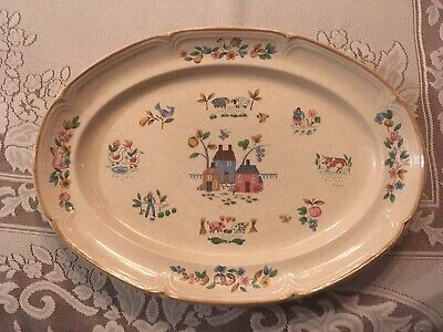 """""""Heartland"""" by International, 15 1/8"""" Oval Serving Platter, Excellent Condition!"""