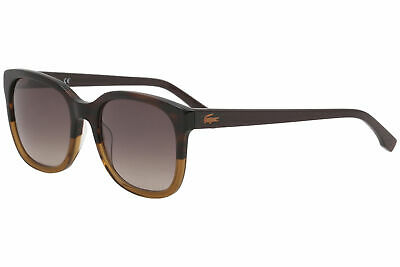 e4e415ab72b3 Lacoste Women s L815S L 815 S 210 Brown Fashion Square Sunglasses 55mm