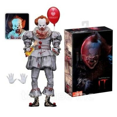 Figura PENNYWISE King Película IT 2017 AMOR DERRY Corazon Clown ULTIMATE