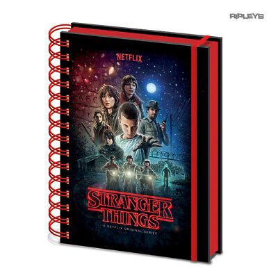 Official STRANGER THINGS Notebook Journal POSTER Stationery Gift