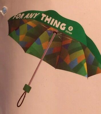 Oxfam Printed Umbrella (New With Label)