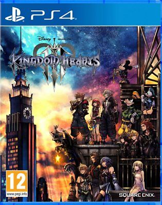 Kingdom Hearts 3 (PS4) NEW SEALED - IMPORT - QUICK DISPATCH - FREE UK POSTAGE