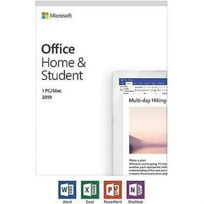 Microsoft Office Home and Student 2019, English
