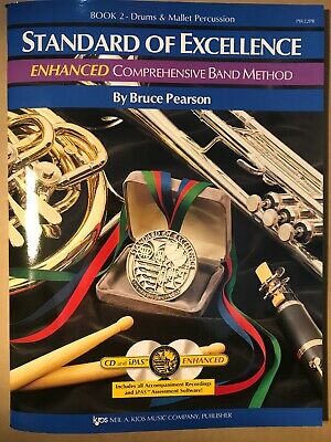 Drum & Mallet Percussion Book 1 Standard of Excellence Band Method Book W21PR