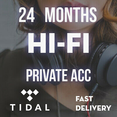 TIDAL Hi-Fi || Tidal 3 years HIFI with Full Warranty | FAST DELIVERY |Tidal hifi