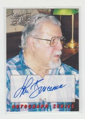 Skybox Trading Card Signed John Buscema  A6 Silver-Age