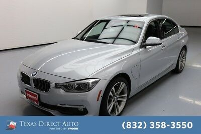 2017 BMW 3-Series 330e iPerformance Texas Direct Auto 2017 330e iPerformance Used Turbo 2L I4 16V Automatic RWD