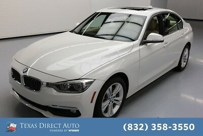 2016 BMW 3-Series 328i Texas Direct Auto 2016 328i Used Turbo 2L I4 16V Automatic RWD Sedan Moonroof