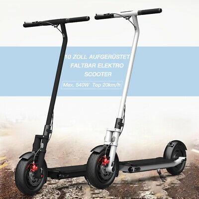 """NEW Smarthlon Electric Scooters Fodable 10"""" Max 540W 25KM/H 150KG Cityroller+LCD"""