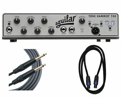 Aguilar Tone Hammer 700 + Speakon Cable + Mogami Cable