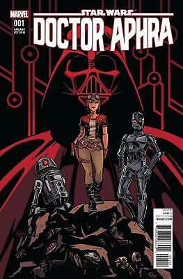 Star Wars Doctor Aphra #1 Charretier 1:50 Variant Near Mint First Print Dr Aphra