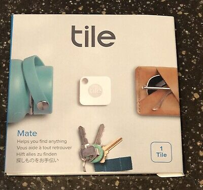 Tile Mate Bluetooth Phone Key Tracker Finder with Replaceable Battery