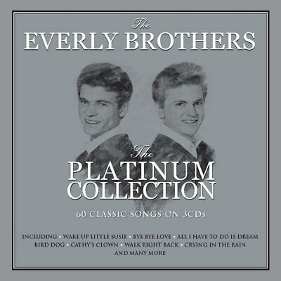 Everly Brothers - Platinum Collection - Best Of / Greatest Hits 3CD NEW/SEALED