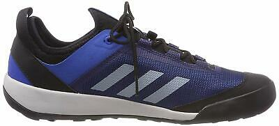 6db6b911579bd ADIDAS OUTDOOR TERREX Swift Solo Blue Beauty Grey Bright Blue Men's Hiking  Shoes