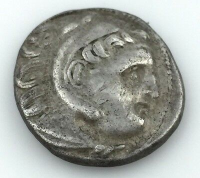Alexander The Great Rare lifetime Drachm 336-323 BC Greek ANCIENT coin