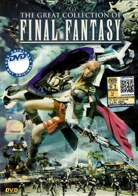 DVD Final Fantasy The Great Collection Free Shipping