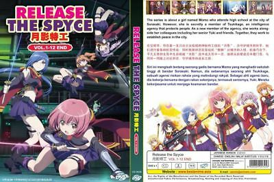 DVD Release the Spyce (Vol.1-12 End) English Subtitles FREE Tracking SHIPPING