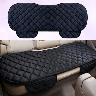 Car SUV Rear Back Seat Cover Cushion PU Leather Pad Mat Dog Protector Universal